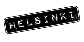 Helsinki rubber stamp. Grunge design with dust scratches. Effects can be easily removed for a clean, crisp look. Color is easily changed Stock Photo