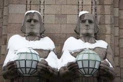 Helsinki Sculptures Stock Photo