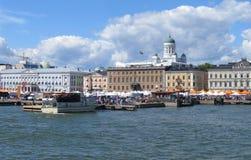 Helsinki from sea Stock Photography