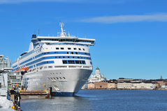 Helsinki sea port royalty free stock images
