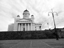 Helsinki Senate Square. In Finland Royalty Free Stock Images
