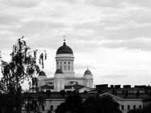 Helsinki Senate Square. In Finland Stock Photos