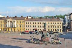 Helsinki, Senate Square Stock Photography