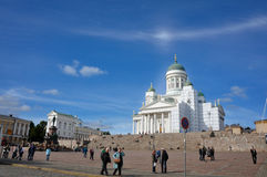 Helsinki Senate Square Royalty Free Stock Photos