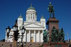 Helsinki - Senatsquadrat Lizenzfreie Stockfotos