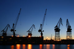 Helsinki shipyard Royalty Free Stock Photography