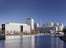 Helsinki, Siltavuorensalmi Bay Stock Image