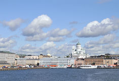 Helsinki skyline Stock Photography