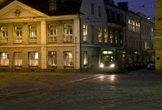 helsinki spårvagn Fotografering för Bildbyråer
