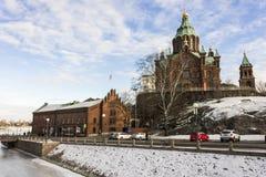 Helsinki-Stadt, Finnland stockfotos