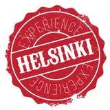 Helsinki stamp rubber grunge Stock Photos