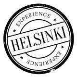 Helsinki stamp rubber grunge Stock Images