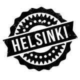 Helsinki stamp rubber grunge. Helsinki stamp. Grunge design with dust scratches. Effects can be easily removed for a clean, crisp look. Color is easily changed Royalty Free Stock Photography