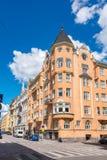 Helsinki street scene. Finland, EU Royalty Free Stock Photo