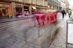 Helsinki street view Stock Image