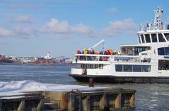 Helsinki Suomenlinna ferry Royalty Free Stock Photography
