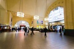 Helsinki train station interior Stock Photos