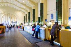 Helsinki train station interior Stock Images