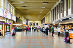 Helsinki train station interior Royalty Free Stock Photo