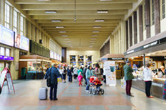 Helsinki train station interior Royalty Free Stock Images
