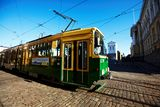 Helsinki tram Stock Photography