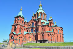 Helsinki. Uspenski Cathedral Stock Images
