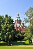 Helsinki. Uspensky  Cathedral Royalty Free Stock Photos