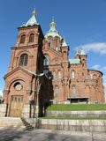 Helsinki - Uspensky cathedral Stock Photos