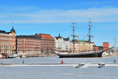 Helsinki in winter Royalty Free Stock Photos