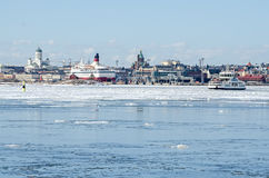 Helsinki winter Stock Photography
