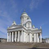 Helsinky Kathedrale stockbild