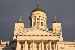 Helsinky Kathedrale Stockfotos