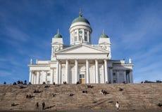 Helsinky Kathedrale Lizenzfreies Stockfoto