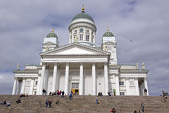 The Helsinski Cathedral in the Old Town of Helsinski, Finland Stock Images