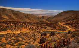 Helskloof Pass - Richtersveld Stock Photo