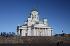 Helsnki cathedral, Finland Stock Photography