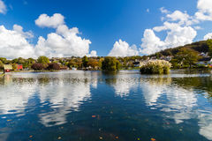 Helston Boating Lake Royalty Free Stock Image