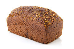 Helt brunt bröd royaltyfri foto