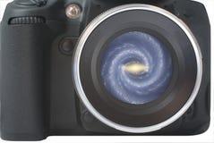 helt ditt för linsuniversum fotografering för bildbyråer
