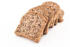 Helt spirat vete för korn bröd Fotografering för Bildbyråer