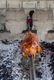 Helt svin som är lagade mat Lechon Arkivbilder