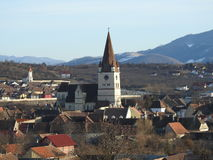 Heltau Fortified Church Stock Photos