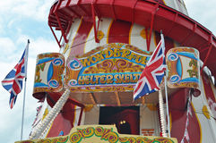 Helter Skelter fairground ride Stock Photography