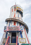 Helter Skelter Funfair Ride Royalty Free Stock Image
