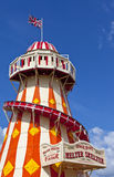 The Helter Skelter in the Queen Elizabeth Olympic Park in London. LONDON, UK - MAY 15TH 2014: The Helter Skelter located in the Queen Elizabeth Olympic Park in Stock Photography