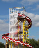 Helter Skelter Ride. Royalty Free Stock Images