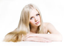 Helthy hair and skin Stock Photo