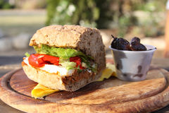 Helthy sandwich Stock Image