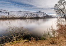 Helvellyn beyond Thirlmere Reservoir Royalty Free Stock Photography