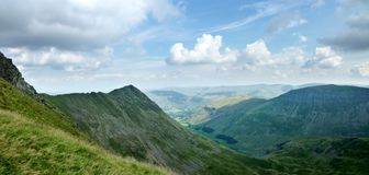 Helvellyn and Grisedale Stock Images